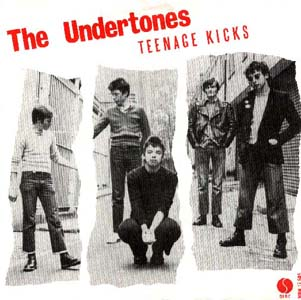 Undertones Teenage Kicks Single Artwork