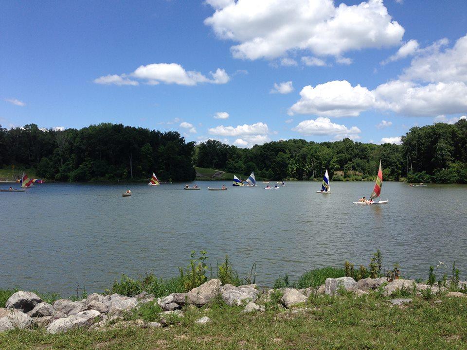 Lake Marge Schott at Camp Friedlander