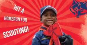 Boy Scouts and Baseball Social Media Creative
