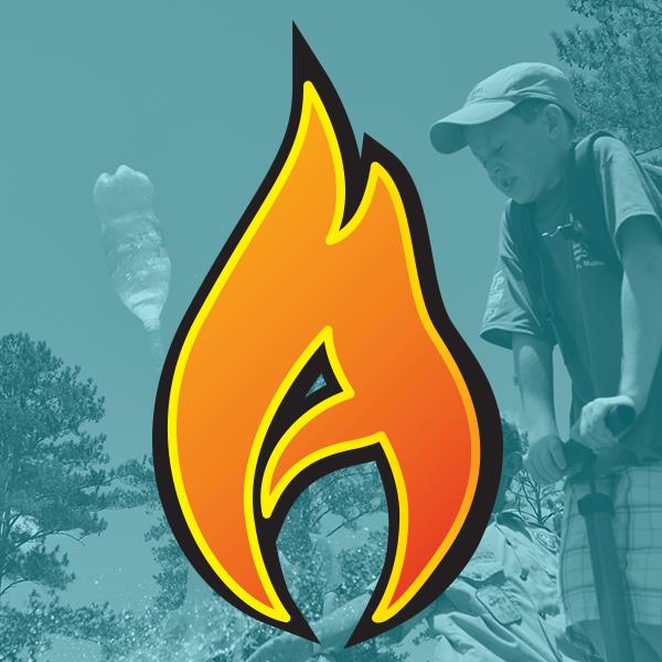 Bert Adams Scout Camp Social Media Logo