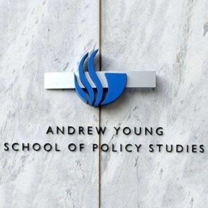 Social Media Logo for the Andrew Young School