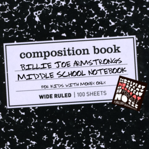 Podcast art for Billy Joe Armstrong's Middle School Notebook