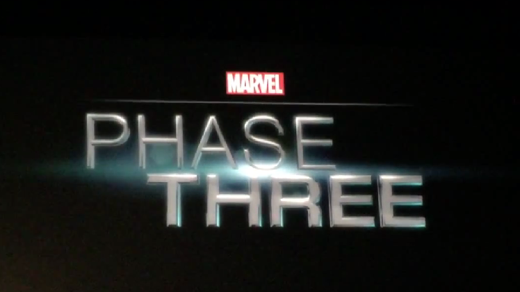 Marvel Cinematic Universe Phase Three title card