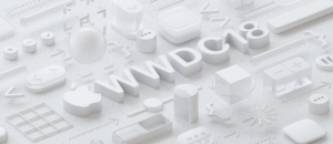 Apple's announcement image for WWDC 2018