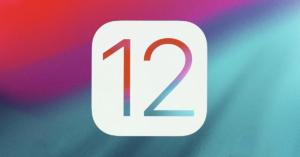 Apple iOS 12 Logo