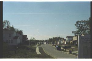 A newer suburban subdivision in Amelia, Ohio