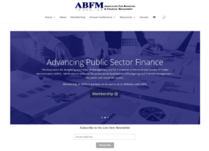 New ABFM website, March 2021